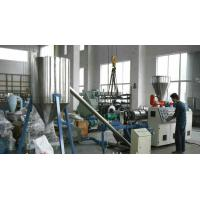 Buy cheap PVC  Hot Cutting Plastic Granules Machine / Pelletizing Machine 60KW product