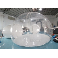 Buy cheap 5m Dia Portable Outdoor Tent Luxury Hotel Transparent Inflatable Clear Bubble Dome Tent product