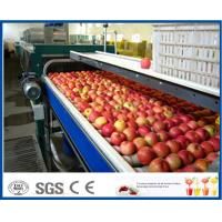 Buy cheap Fruit Juice Production Fruit And Vegetable Processing Device With SUS304 / SUS316 Steel product
