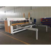 Buy cheap Corrugated Clapboard Automatic Thin Knife Edge Slitter Scorer from wholesalers