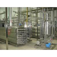 Buy cheap PLC Control Dairy Processing Plant 2000LPH UHT Aseptic Tubular Sterilizer 1 Year Warranty product