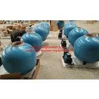 Buy cheap 25 Inch Fiberglass Swimming Pool Sand Filters With Pump Set Filtration System product