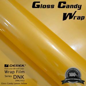 Buy cheap Gloss Candy Lemon Yellow Vinyl Wrap Film - Gloss Lemon Yellow product