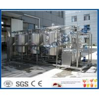 Buy cheap 1000L - 10000L Cleaning In Place System , Cip Systems Dairy Industry With 4 Tank Double Circuits product