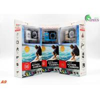 Buy cheap Professional 30 Meters Waterproof Action Camera A9 Full 1080P HD No Wifi Mini Size from wholesalers
