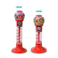 China ABS Material Arcade Games Machines / Mini Spiral Gumball Machine on sale