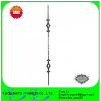 China forged iron  baluster for iron window grills,fence on sale