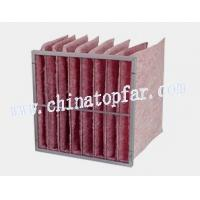Buy cheap Pocket air filter,Bag type air filter,air filteration equipment,extended surface muti-pocket filter product