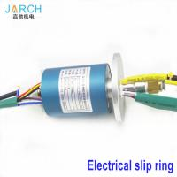 Buy cheap 2A / 5A Through Bore Homemade Slip Ring Aluminium Alloy ID 6mm OD 40mm 2 ~ 24 from wholesalers