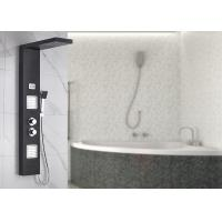 Buy cheap Dual Handle Control Bath Shower Panels Black Painting Appearance ROVATE product