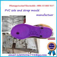 Buy cheap Commercial Colorful Flip Flop Mould With PVC Strap And EVA Sole product
