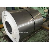 Buy cheap Mirror Finish 201 Stainless Steel Coil / Steel Sheet Coil For Pipe Making product