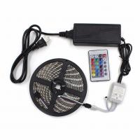 China 20m LED Strip 5050 RGB Waterproof IP65 LED tape with RF touch Remote controller + Power adapter + Amplifier Kit on sale