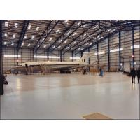 Quality I / H Beams Constructed Metal Aircraft Hangar Buildings Providing Grand Interior Space for sale
