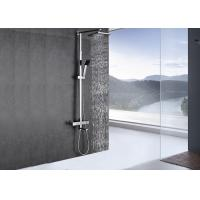 Buy cheap Chrome Polished Custom Shower Systems Adjustable Height Easy To Use ROVATE product