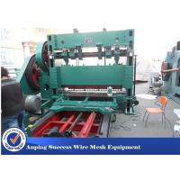Buy cheap Low Noise Expanded Metal Equipment , Expanded Metal Mesh Making Machine product