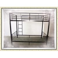 Buy cheap Metal Heavy Duty Adult Iron Steel Double Bunk Bed for School Dormitory or Army or Hotel and Camp product