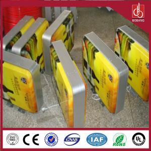 China Professional manufacture ultrathin custom 3D led auto light led box;wholesale standar cube on sale