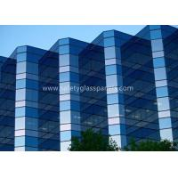 Quality 12.38mm Low E Laminated Safety Glass for Curtain Wall , Door and Windows for sale