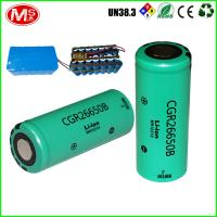 Buy cheap 26Ah 12v Cylindrical Lithium Ion Battery For Electric 3 Wheelchair , EU Certificate product