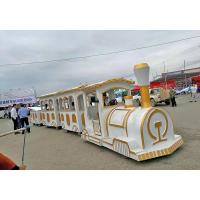 Buy cheap Commercial Square Ride On Trains For Adults Four - Wheel Steering System from wholesalers