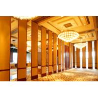 Buy cheap Abrasion Resistance Wooden Folding Partition Walls For Conference Room 7m Height from wholesalers