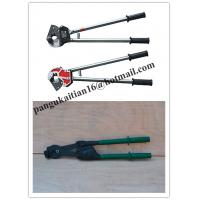 Buy cheap often sale Cable cutter with ratchet system,Cable scissors good in China product