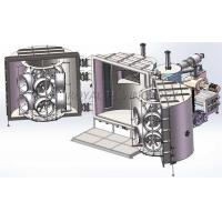 Buy cheap Chrome PVD Magnetron Sputtering Coating Machine , Vehicle Wheels PVD Chrome Vacuum Metallizer product