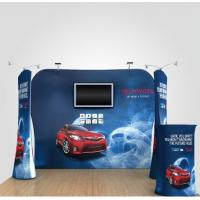 Buy cheap 8Ft 10Ft 15Ft Tension Fabric Displays Trade Show Booth Displays Waterproof product