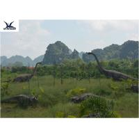 Buy cheap Realistic Ultra Giant Dinosaur Statue For Jurassic Forest Decoration 110/220V product
