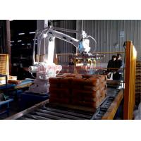 Buy cheap High Strength Automatic Stacking Machine , Fast Packing Robotic Bag Palletizer product