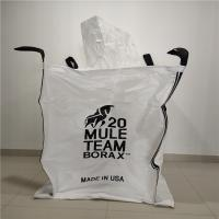 Buy cheap Fibc Pp Jumbo Bulk Bags Closed Bottom For Chemicals / Minerals 90 X 90 X 110cm product