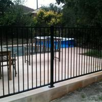 Buy cheap Galvanization steel pool safty fence rails product
