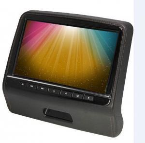 Universal Car Pillow Dual Headrest Dvd Player For Car Black Beige Grey