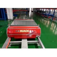 Quality Red Automated Storage Retrieval System Dual Rail Annular Ferry Car Transmitting Pallets for sale