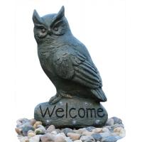 Buy cheap Cast Stand Up Owl Statue Water Fountains Indoor Outdoor OEM & ODM product