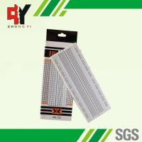 Buy cheap Solderless Pure White Electronic Breadboards Without Color Printed product