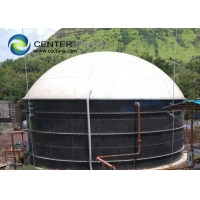 Buy cheap Glass Lined Steel Farm Biogas Tanks In Powered Dairy Farms product