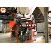 Buy cheap Total 220kw Feed Pellet Production Line With SKF Bearing Capacity 10T/H product