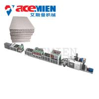 Buy cheap Polypropylene Profile Sheet Machine For Plastic Hollow Building Construction Formwork product