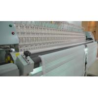 Buy cheap 34 Heads Quilting And Embroidery Machine , Computerized Quilt Making Machine For Textile product