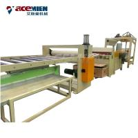 Buy cheap Plastic Wooden Flooring Manufacturing Machines SPC Click Flooring Online EIR Stone product