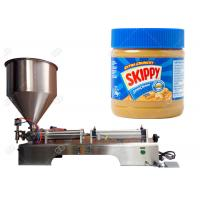 Buy cheap Semi - Automatic Food Packing Machine Peanut Butter Jar Filling Machine from wholesalers