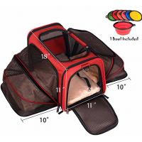 Buy cheap Two Side Expandable Pet Carrier , Extra Spacious Soft Air Travel Pet Carrier product