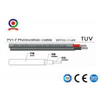 Buy cheap PV1-F 1 X 4mm2 Electrical Dc Solar Wire Photovoltaic Wire 100m / Roll Packing product