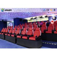 Buy cheap Deft Novel Motion 5D Theater Equipment With 12 Special Effects CE ISO9001 product