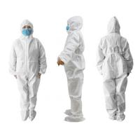 Buy cheap Non Woven Full Body Protection SuitDisposable Hooded CoverallsMedical Use product