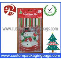 Buy cheap Custom Printed Plastic Treat Bags HDPE 20 - 100micron For Christmas product