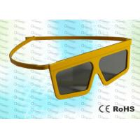 Buy cheap Master Image,RealD Cinema Plastic Yellow Circular polarized 3D glasses product