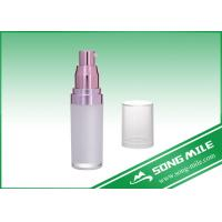 Buy cheap Acrylic Lotion Bottle with Pump Made in China for Skincare product